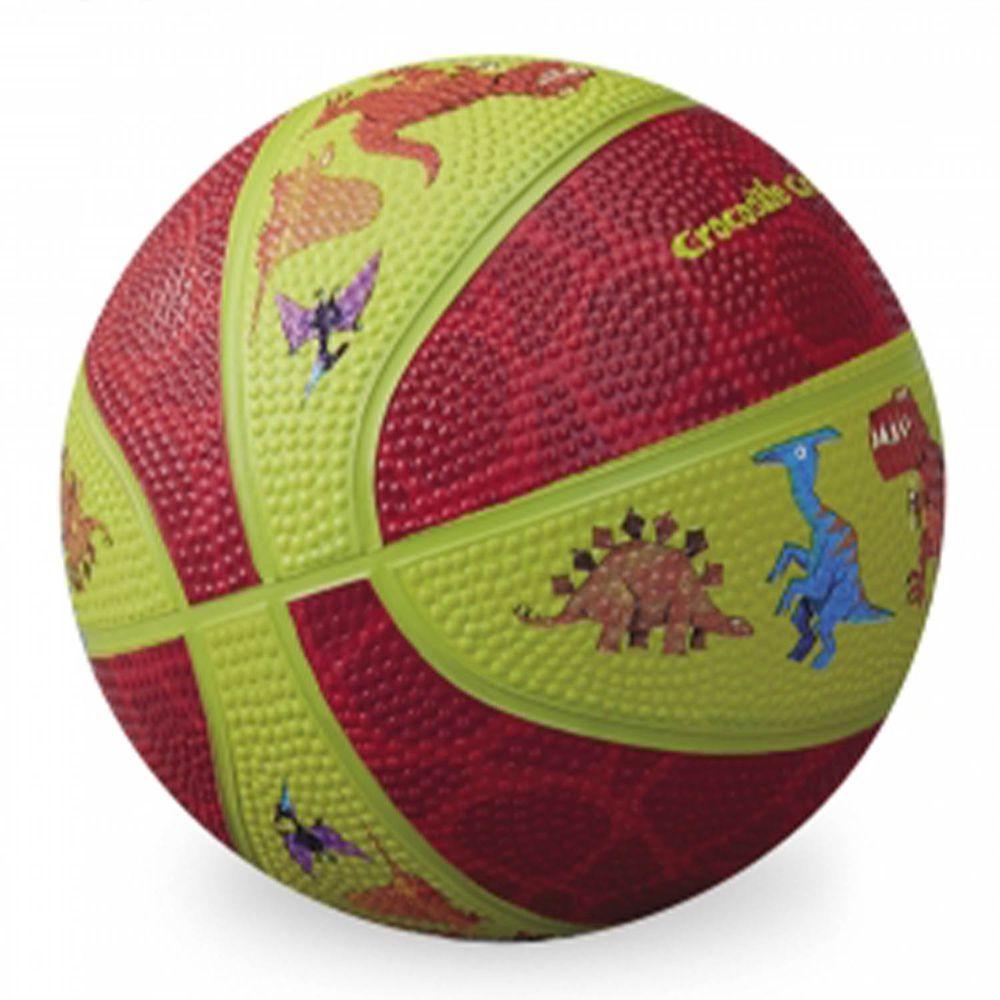"Crocodile Creek - 5.5""兒童運動遊戲籃球-恐龍世界"