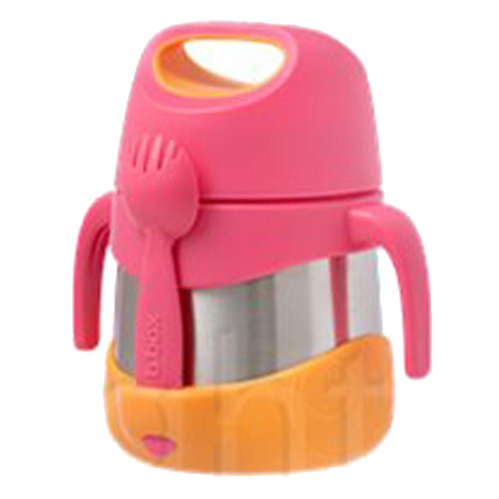 澳洲 b.box - 不鏽鋼燜燒罐-草莓粉-335ml