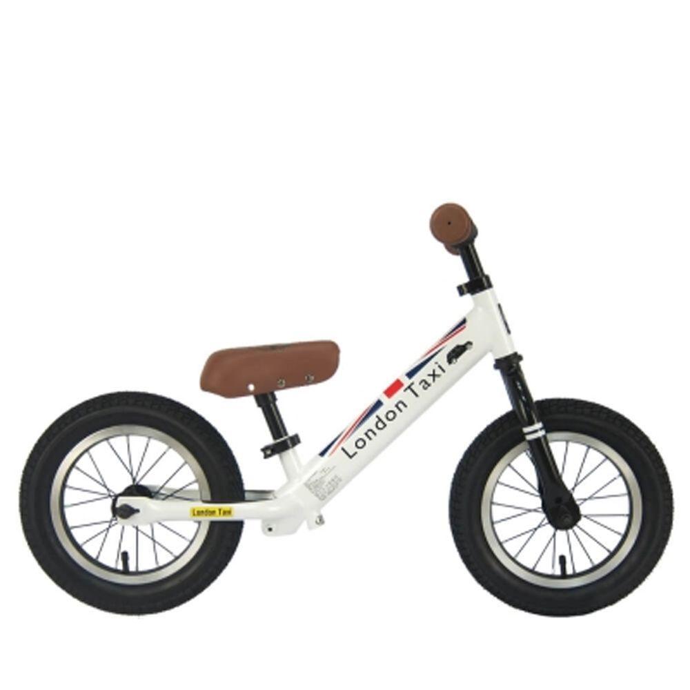 英國 London Taxi KickBike - 專業充氣胎幼兒平衡滑步車-白