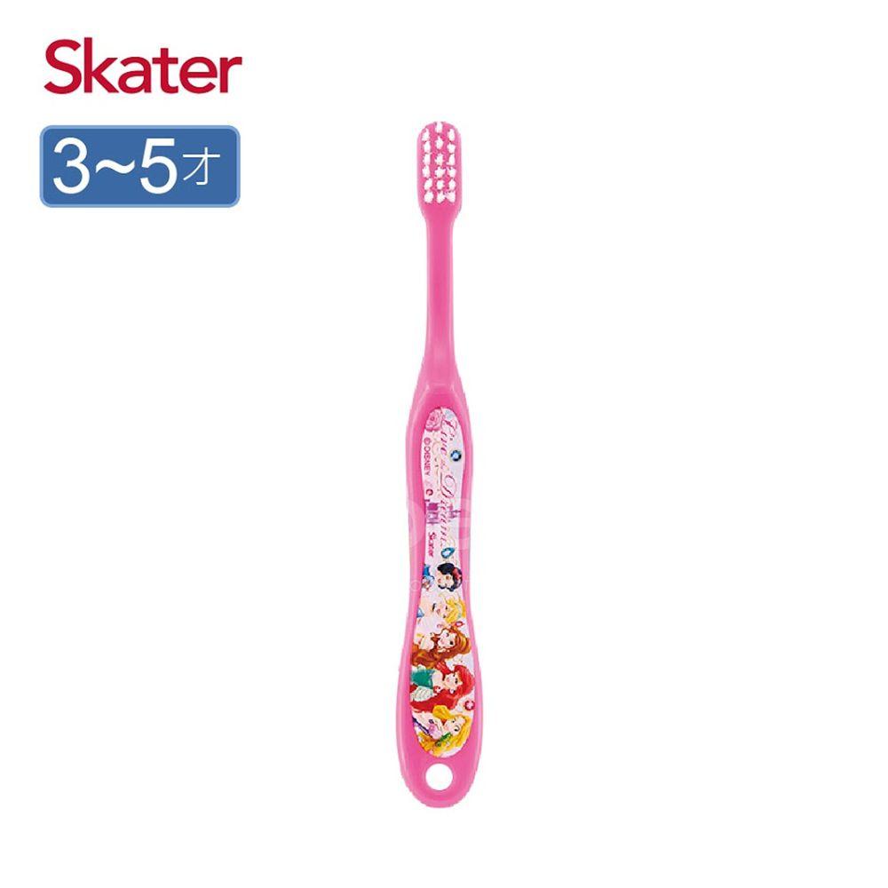 日本 SKATER - 軟毛牙刷(3-5歲)-迪士尼公主