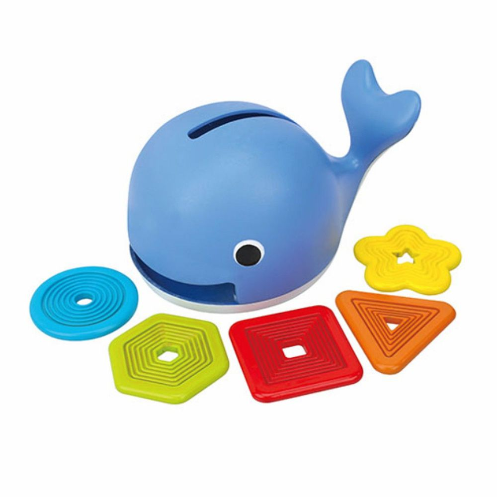 K's Kids - 愛吃形狀的鯨魚