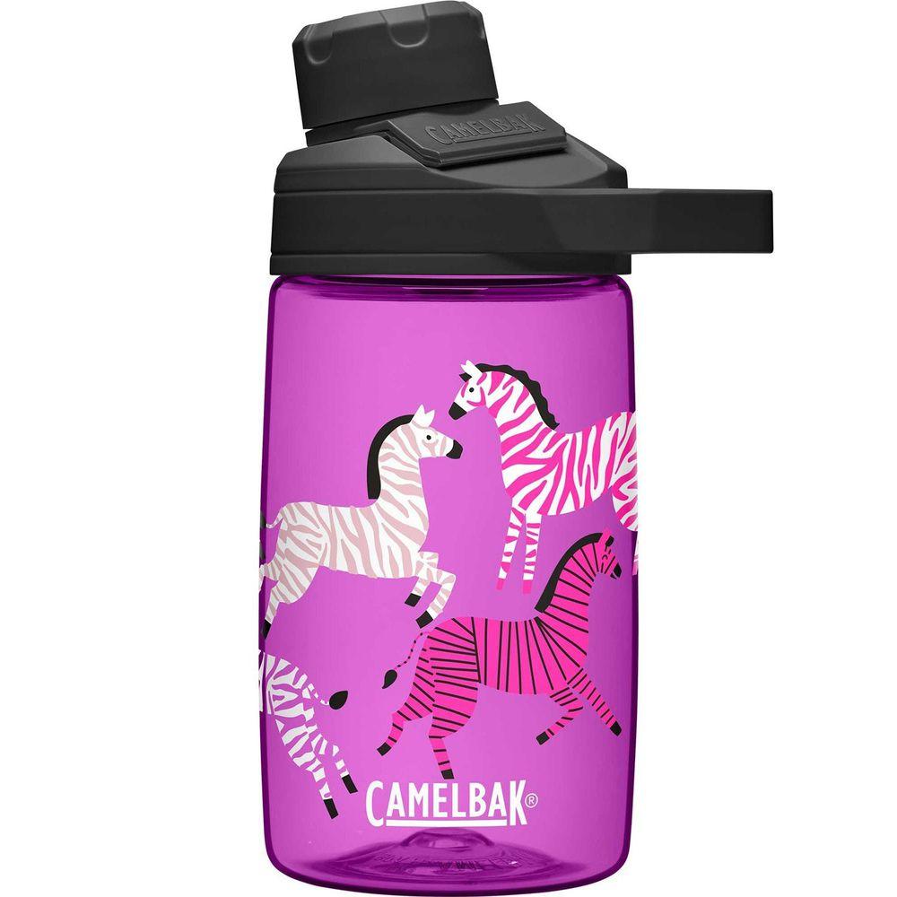 CamelBak - CHUT MAG 戶外運動直飲水瓶-炫彩斑馬-400ml (145g)-專案