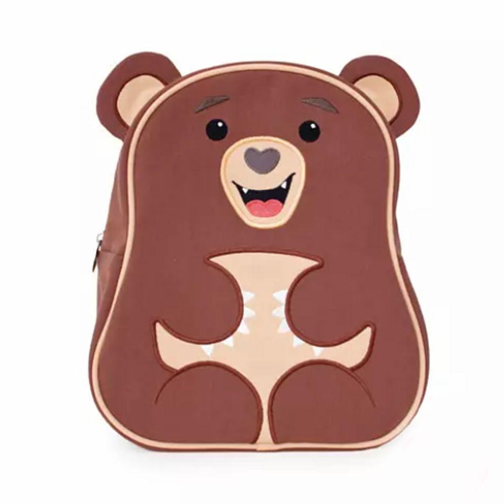 Apple Park - AP 野餐好朋友 - 兒童造型背包-小熊