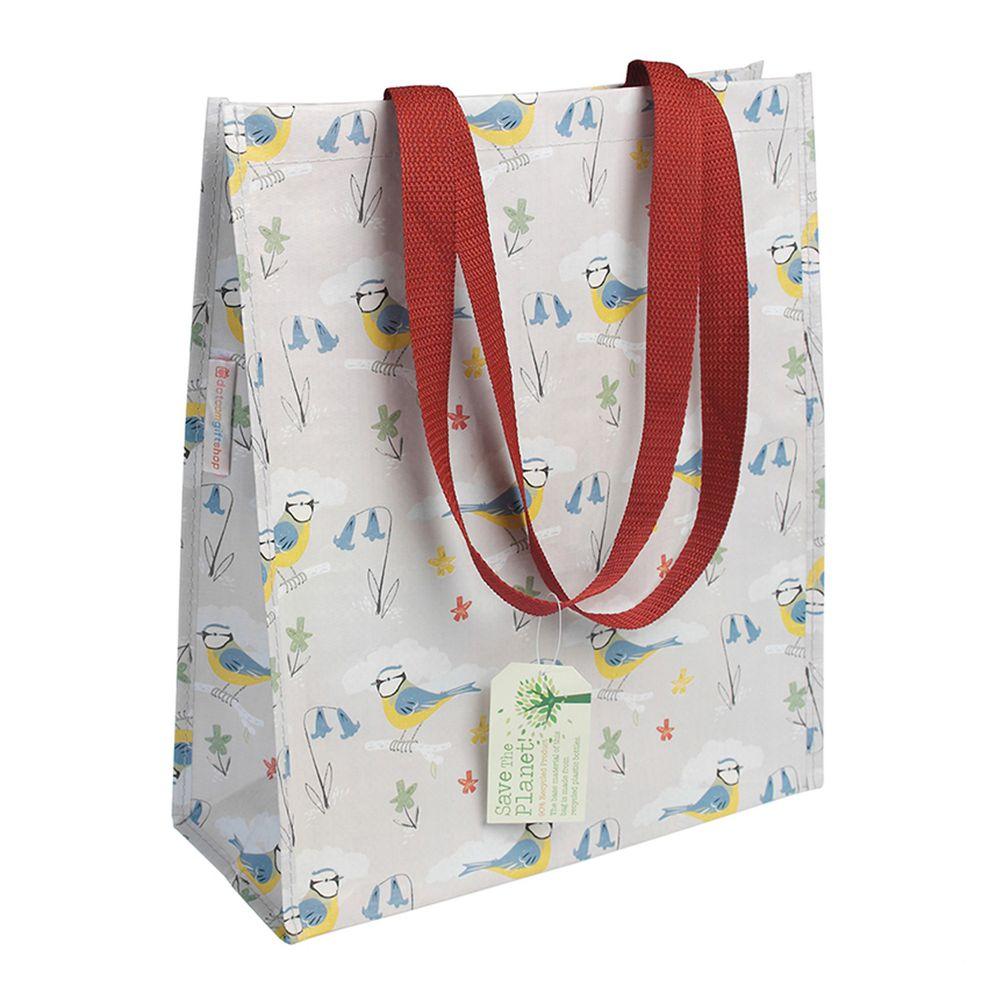 英國 Rex London - 環保多功能購物袋/萬用袋-藍雀