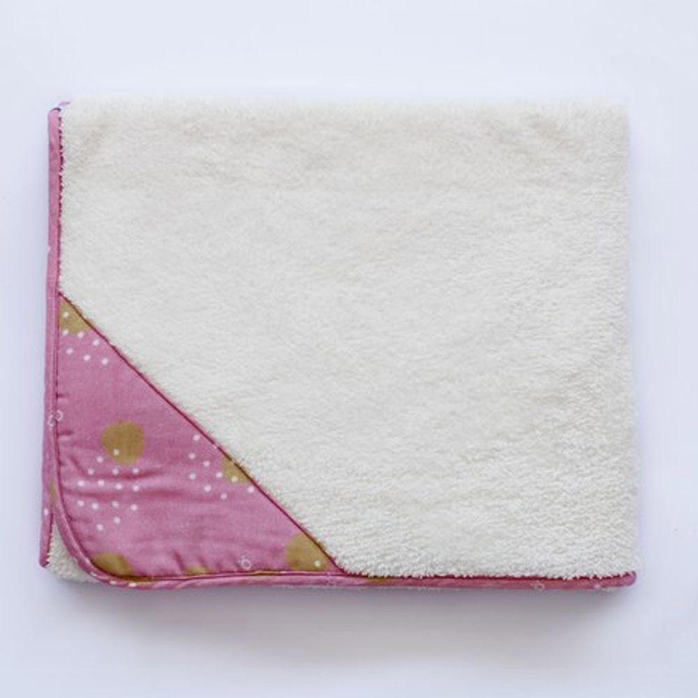 minihope美好的親子生活 - 雲一樣的澎澎毯/浴巾/披毯/蓋毯-米白 (75x120cm)