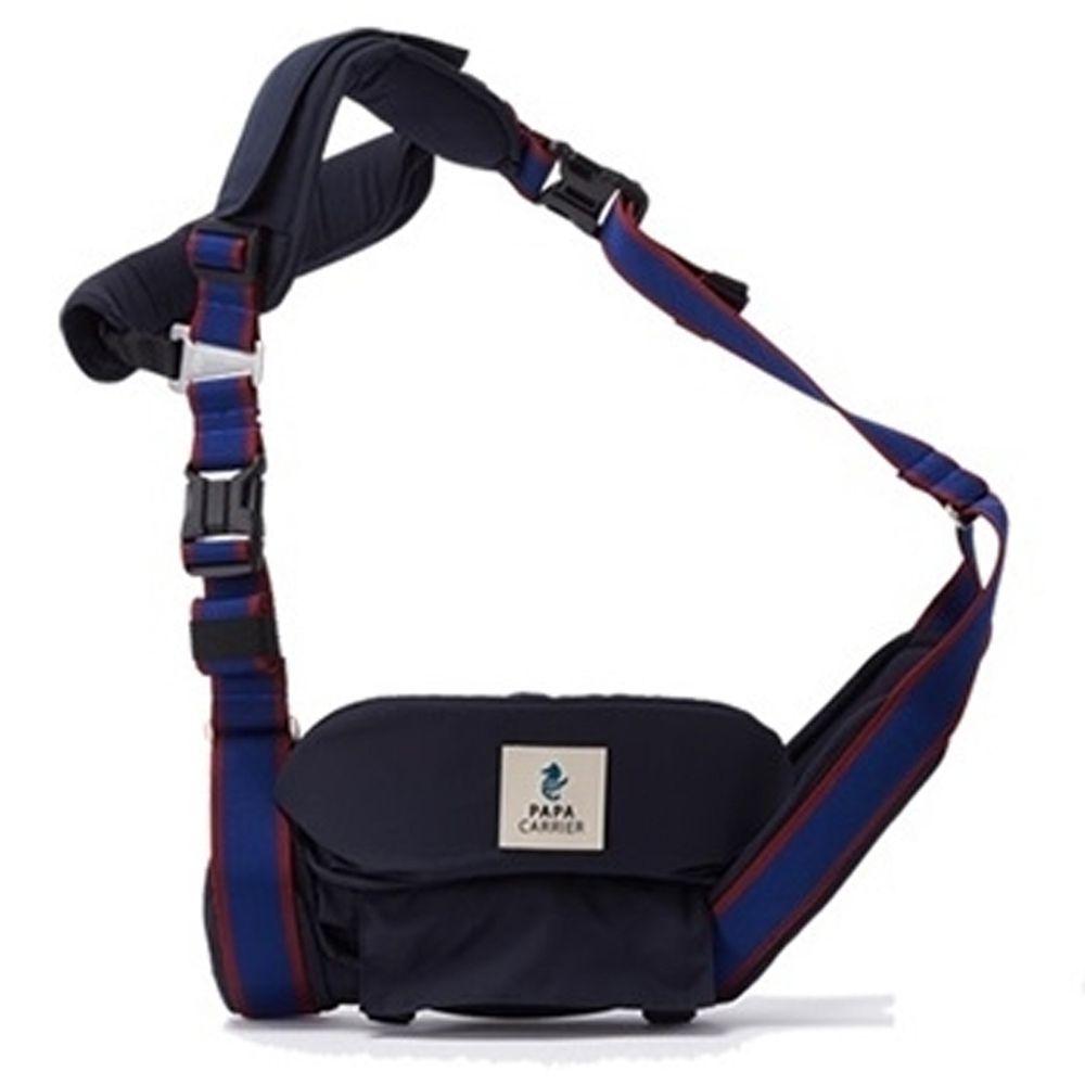 韓國Papacarrier - 單肩環抱揹巾-深藍