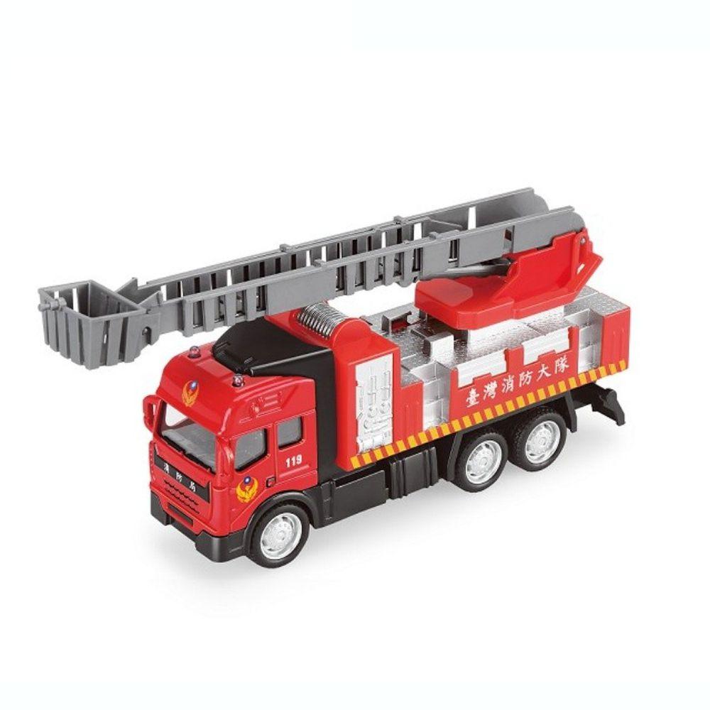 樂彩森林 - 聲光迴力城市守衛隊-消防雲梯車