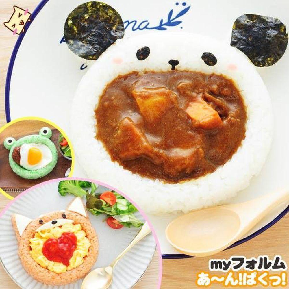 日本 Arnest - 米飯模具組-雙造型醬汁-1份約160g飯量