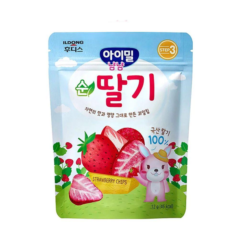 韓國Ildong Foodis日東 - 水果脆片-草莓