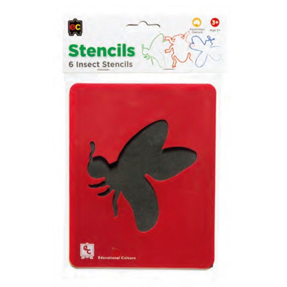 澳洲 EC - EC模組6入-昆蟲世界