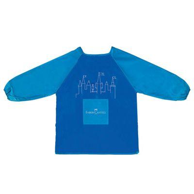 兒童畫畫衣-藍