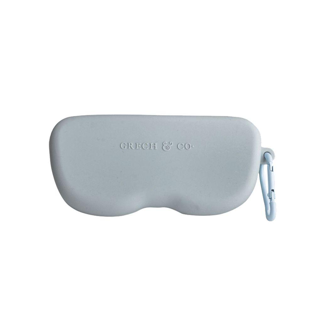 丹麥GRECH&CO - 矽膠眼鏡盒-天空藍
