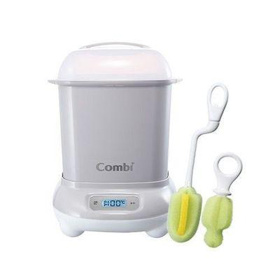 Pro 高效消毒烘乾鍋-超值優惠組 B-寧靜灰-消毒鍋+刷具組