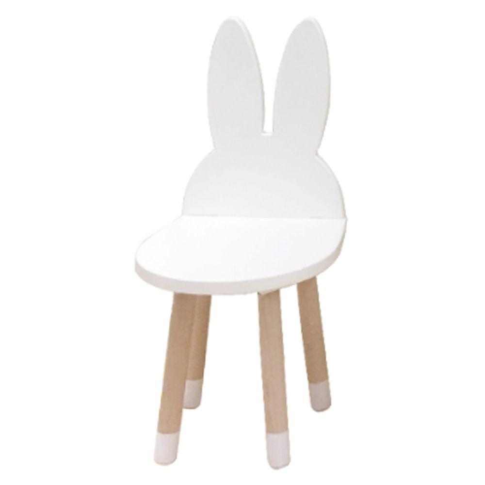 HELLO MONKEY - 北歐風兒童造型椅/兒童椅-兔子