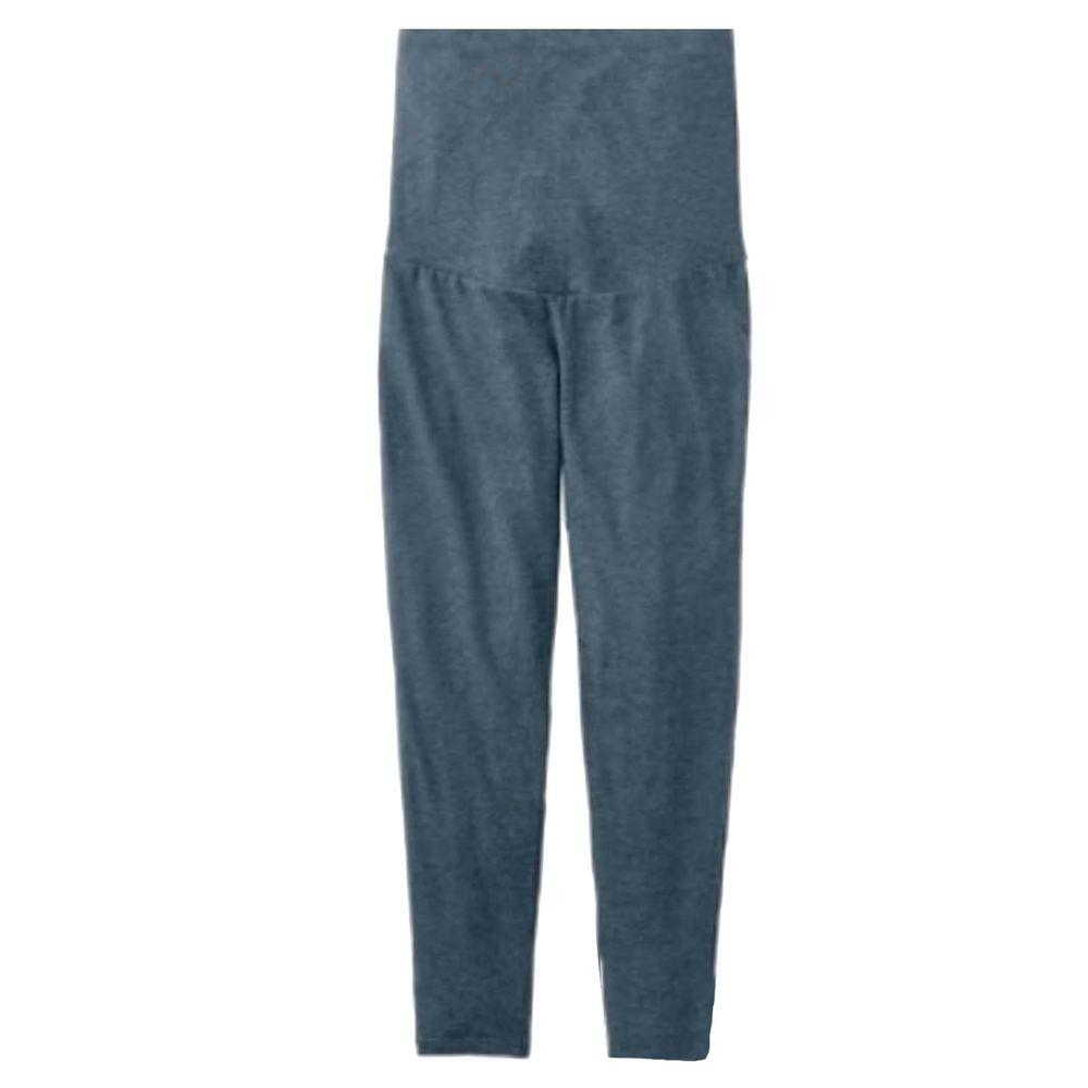 日本千趣會 - 90%棉 孕產發熱褲-深灰