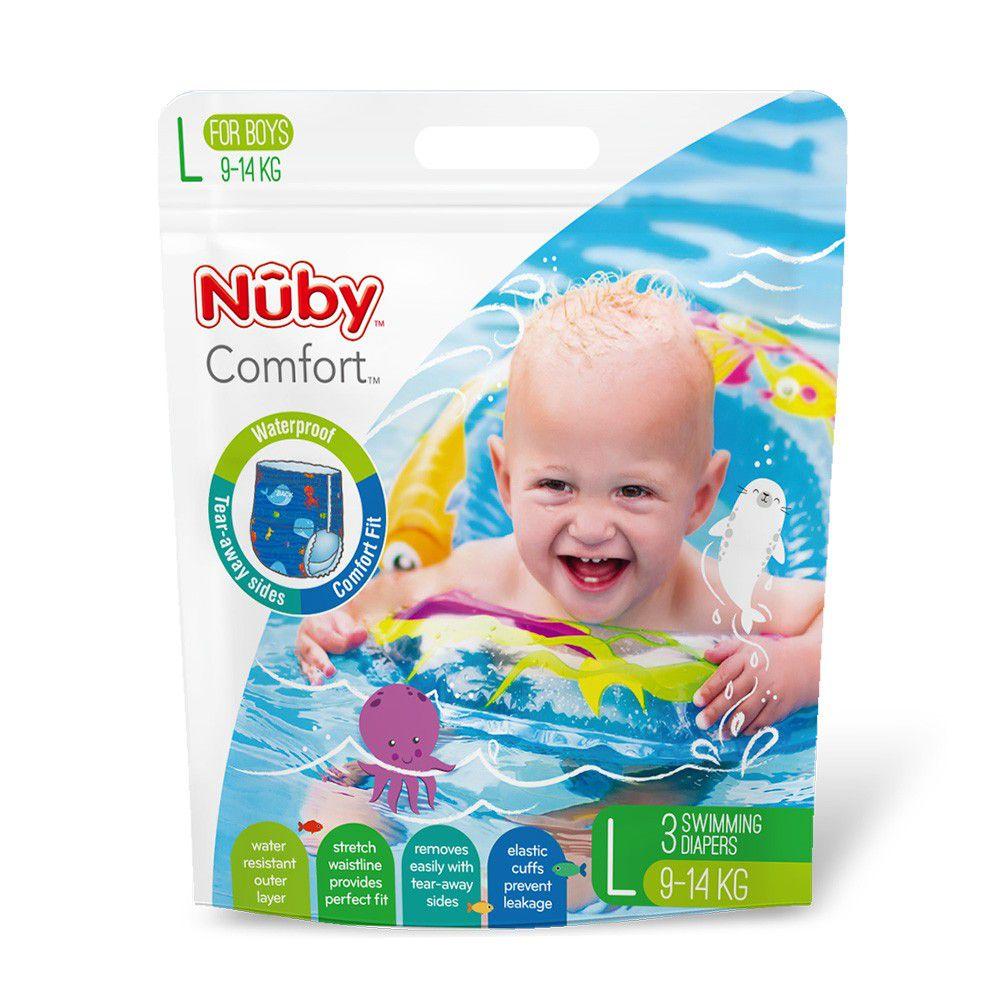 Nuby - 游泳尿布-(男/L)