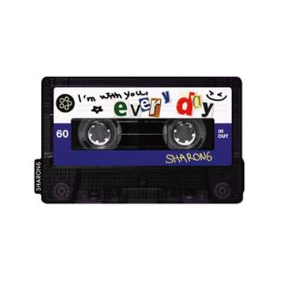 韓國 SHARON6 - 手機氣囊支架-特別款-錄音卡帶