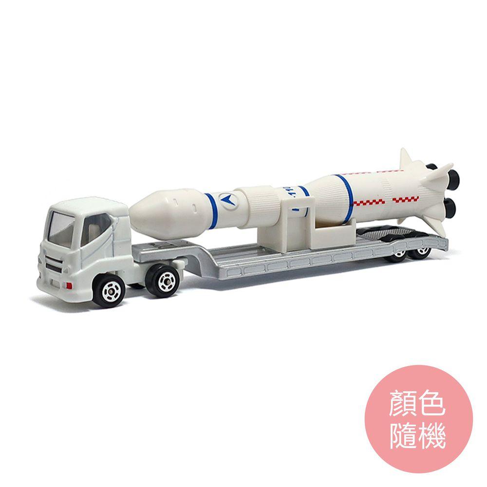 樂彩森林 - 加長合金車-火箭運輸車(110#)(顏色隨機)-滑行
