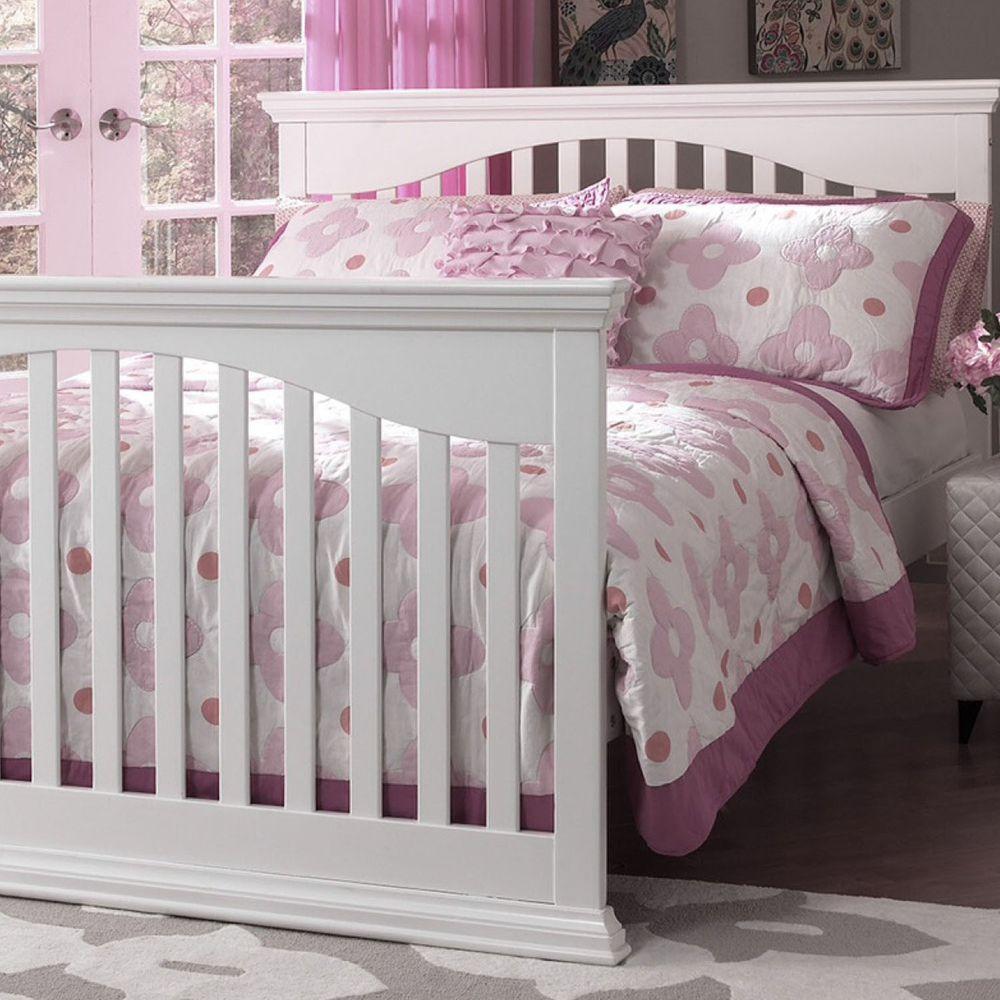 Rockland - 蓓莉4合1成長床-贈10cm床墊-白色 (130X70)