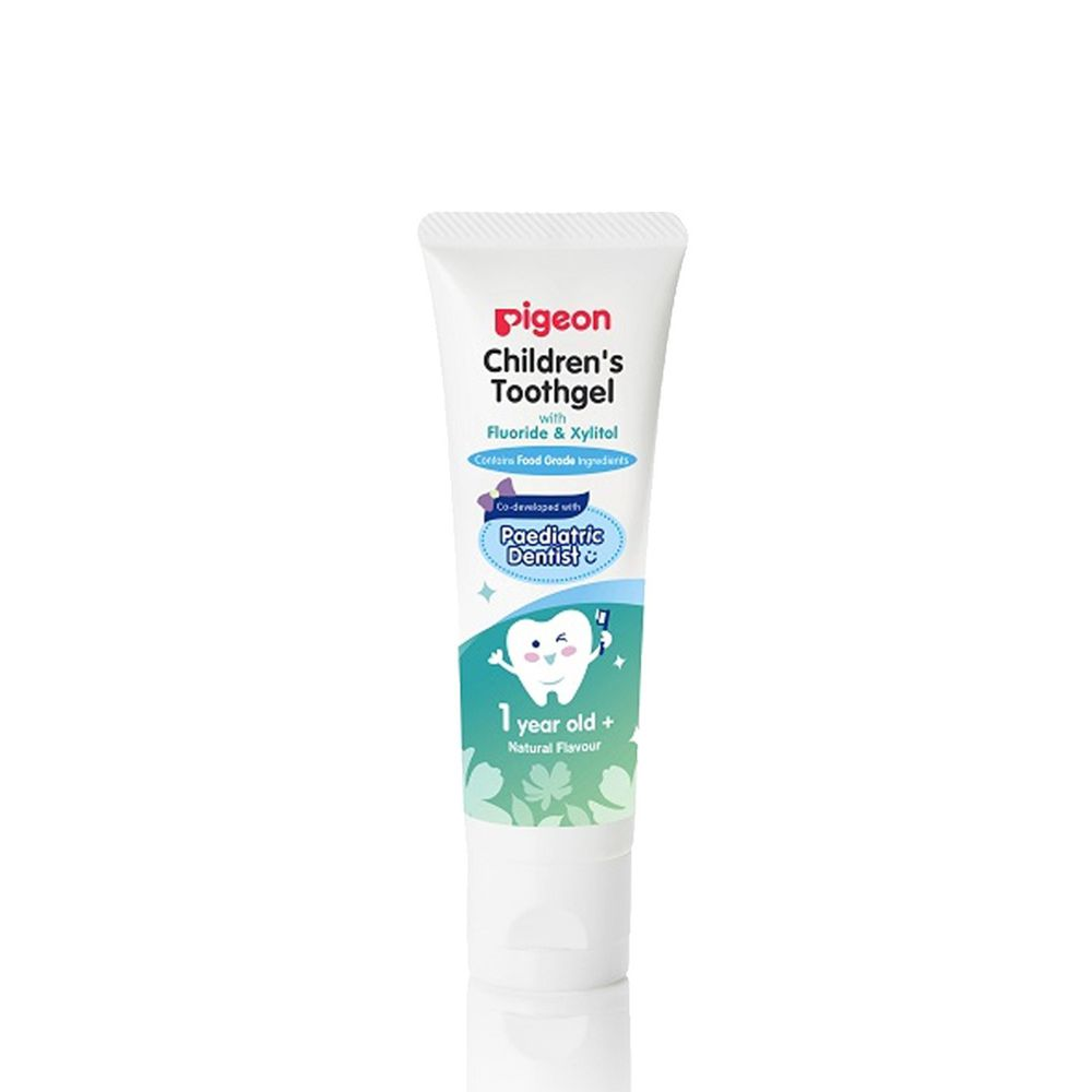 貝親 Pigeon - 兒童含氟牙膏-原味