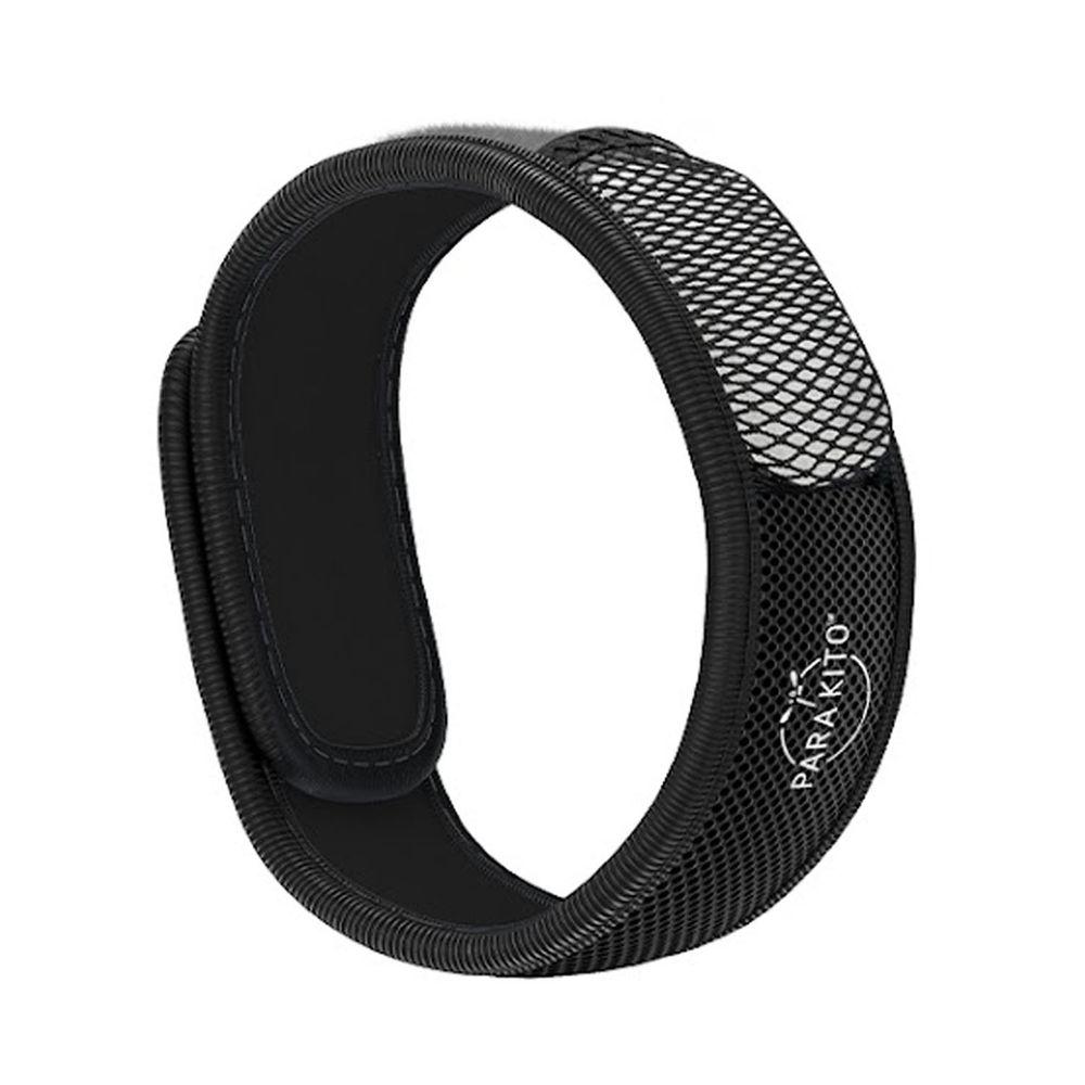 法國 PARA'KITO 帕洛 - 天然精油防蚊手環-繽紛款-黑色