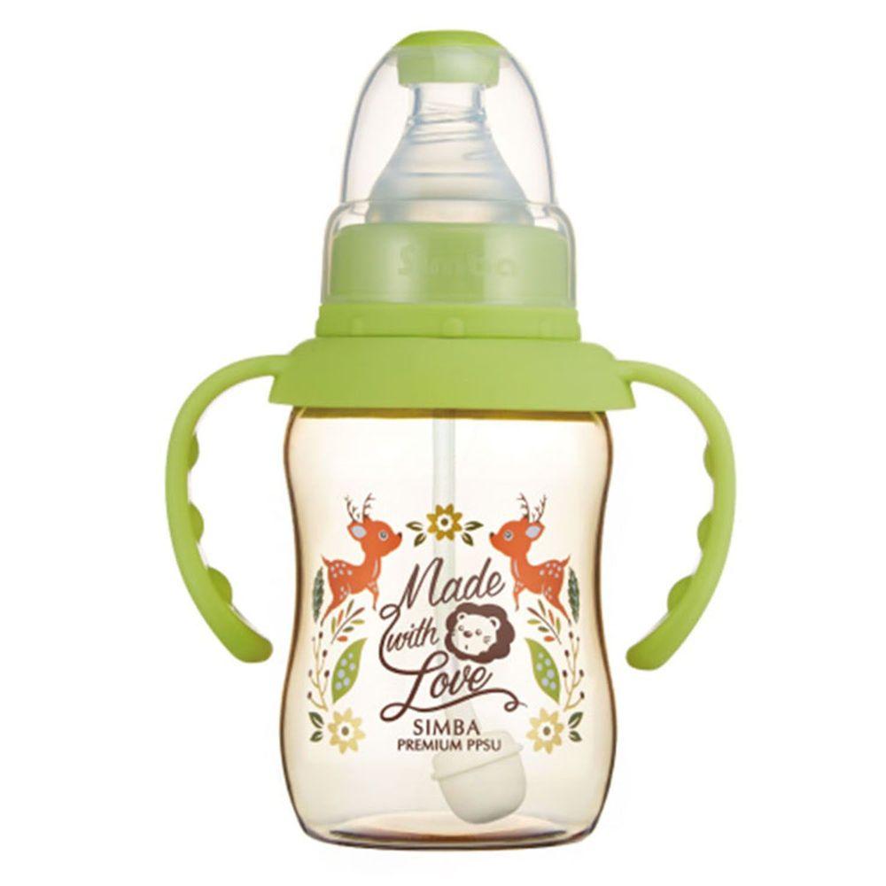 Simba 小獅王辛巴 - 桃樂絲 PPSU 標準葫蘆小奶瓶-自動把手-遇見丘比特-150ml