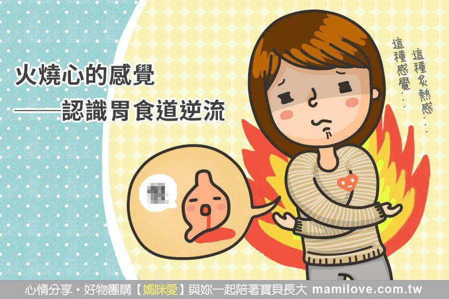火燒心的感覺──認識胃食道逆流