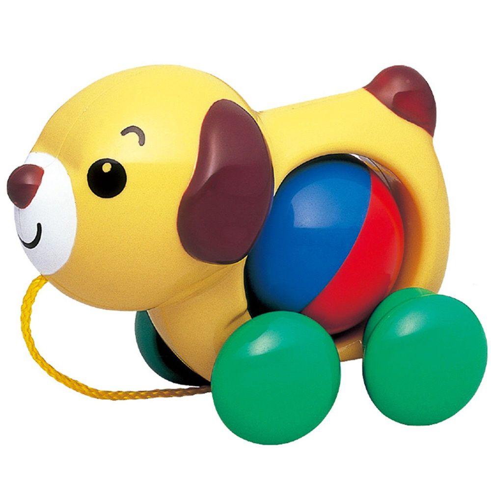 日本 Toyroyal 樂雅 - 手拉小狗 (140x70x110mm)-1.5歲以上