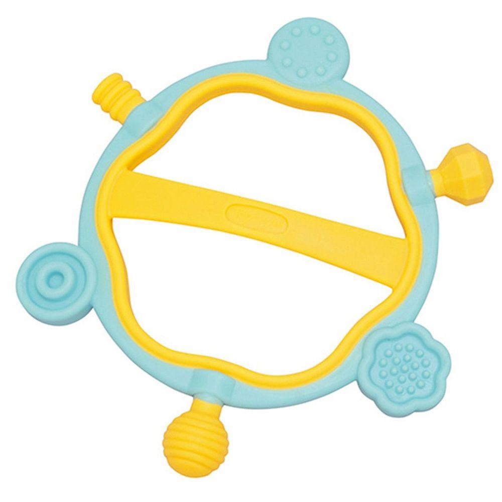 日本 Toyroyal 樂雅 - LOVE系列-六角型固齒玩具-3M以上