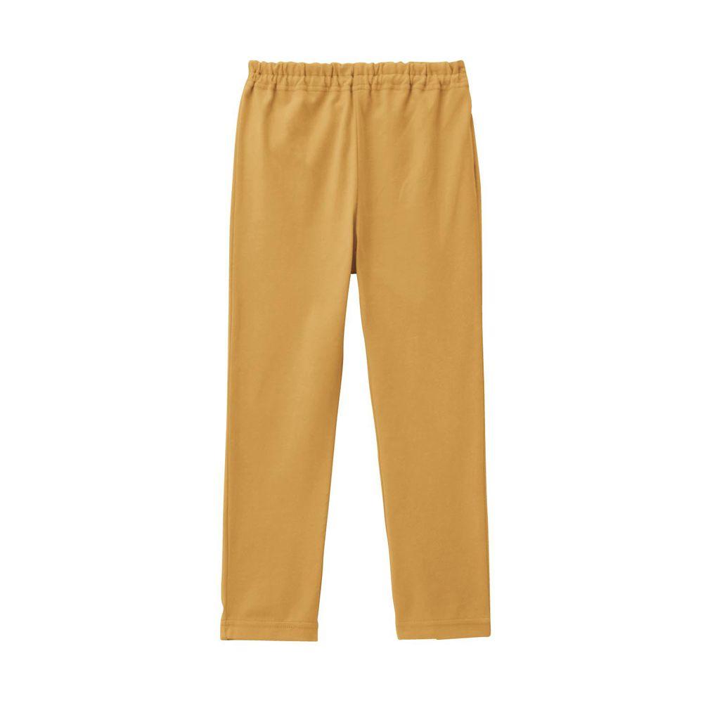 日本千趣會 - GITA 超彈力純棉10分內搭褲-芥末黃