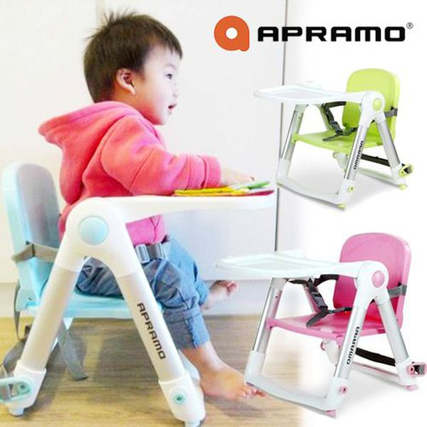 英國 Flippa Apramo 折疊餐椅,可攜帶的寶寶餐椅