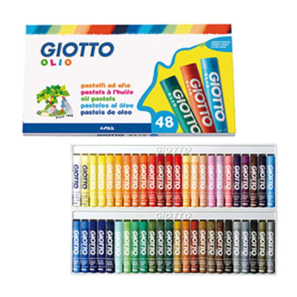 義大利GIOTTO - 兒童粉蠟筆(48色)