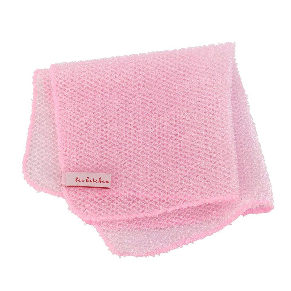 日本 LEC - 快乾易起泡網狀洗碗巾-1入