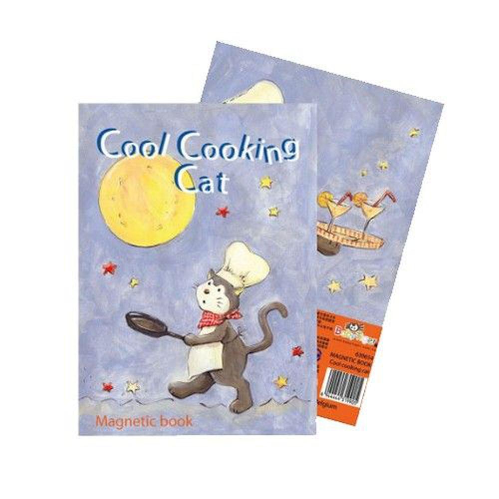 比利時艾格蒙 - 口袋書磁鐵書-酷貓廚師