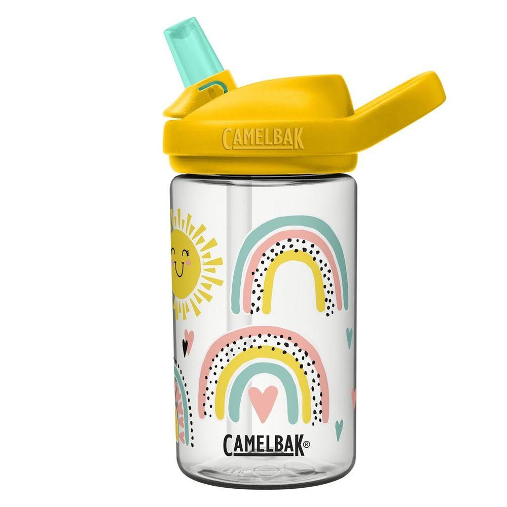CamelBak - EDDY+ 兒童吸管運動水瓶-陽光彩虹 (400ml)-專案
