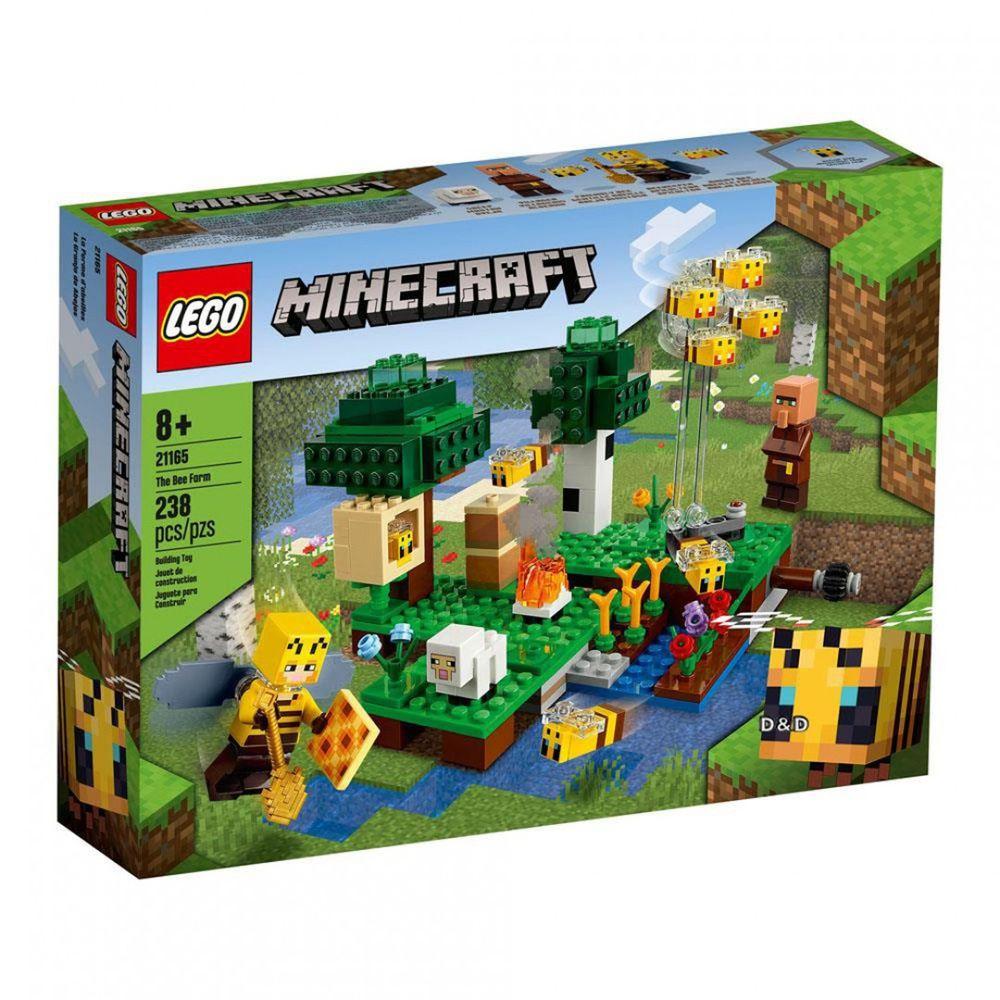 樂高 LEGO - 樂高積木 LEGO《 LT21165 》Minecraft 系列 - The Bee Farm-238pcs