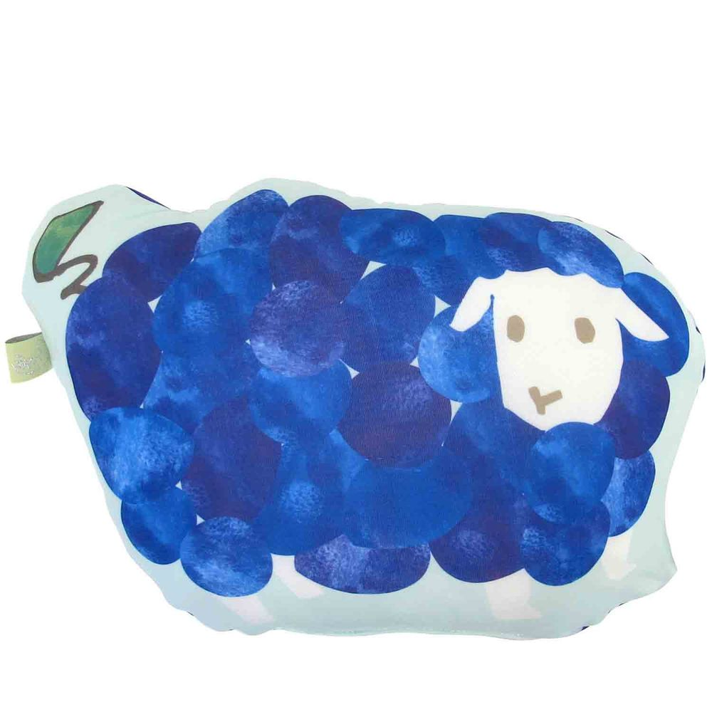 日本 DAIKAI - 接觸涼感造型抱枕-葡萄小羊 (35x22cm)