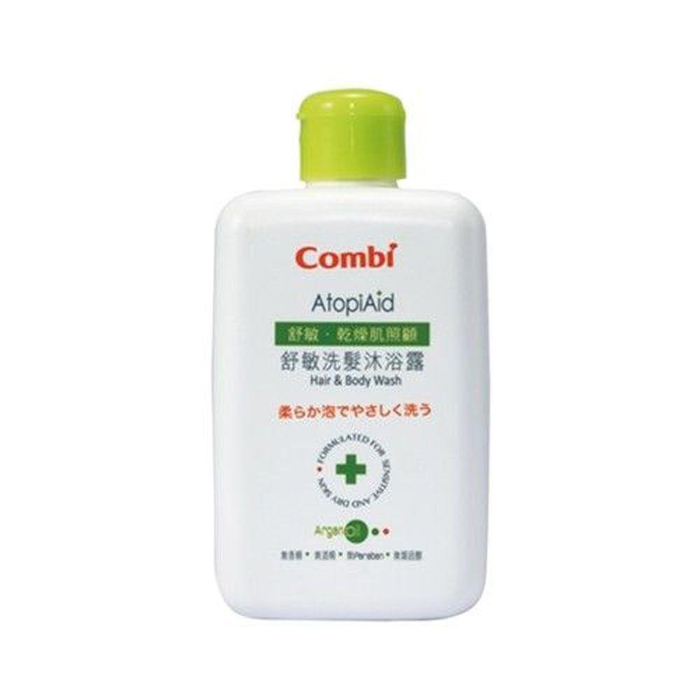 日本 Combi - 舒敏洗髮沐浴露-250ml
