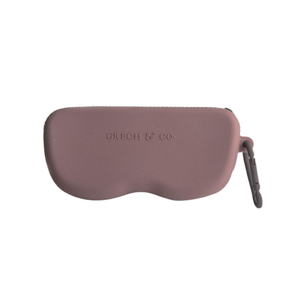 丹麥GRECH&CO - 矽膠眼鏡盒-藕粉