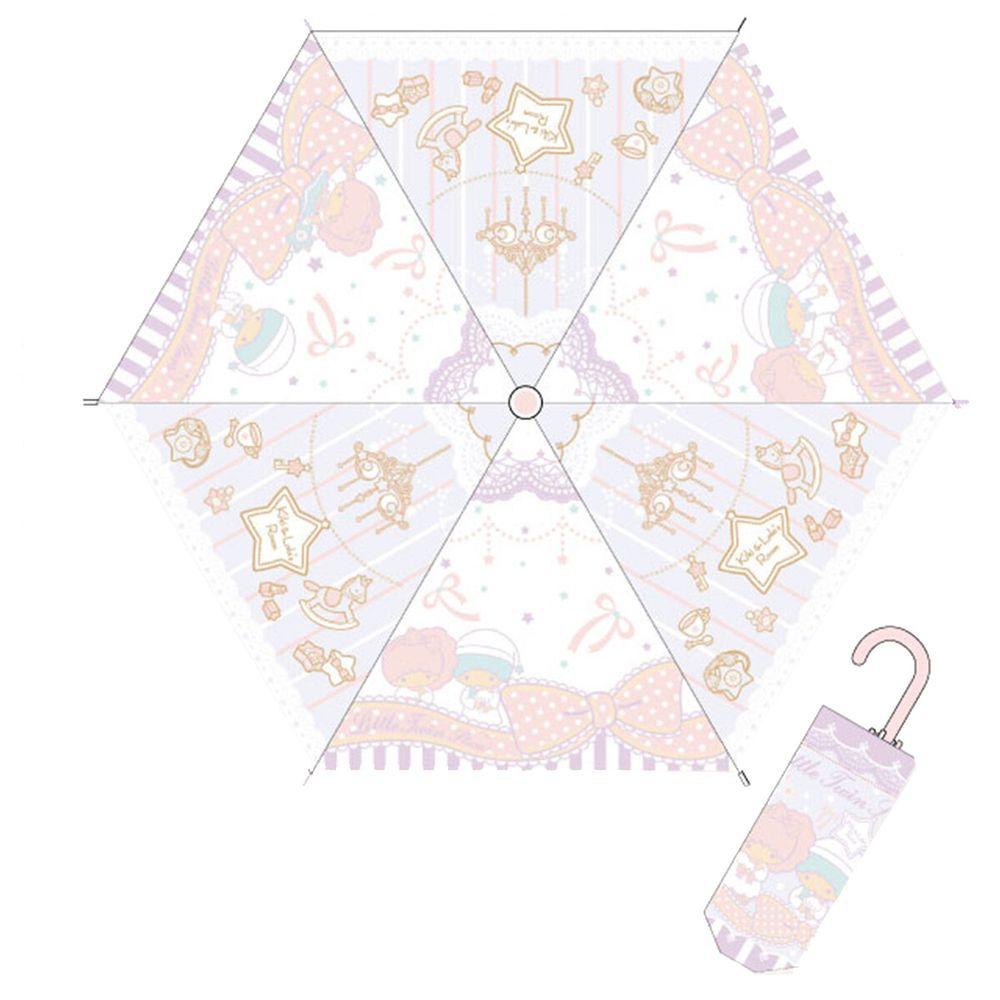 日本代購 - 卡通折疊雨傘-雙子星 (53cm(125cm以上))