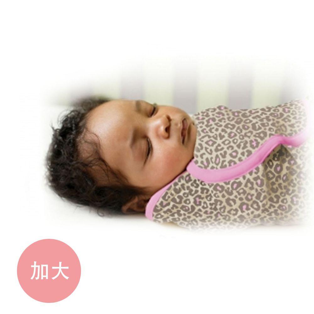 Summer Infant - 聰明懶人育兒包巾-粉紅豹 (加大)-適用年齡:4~6個月