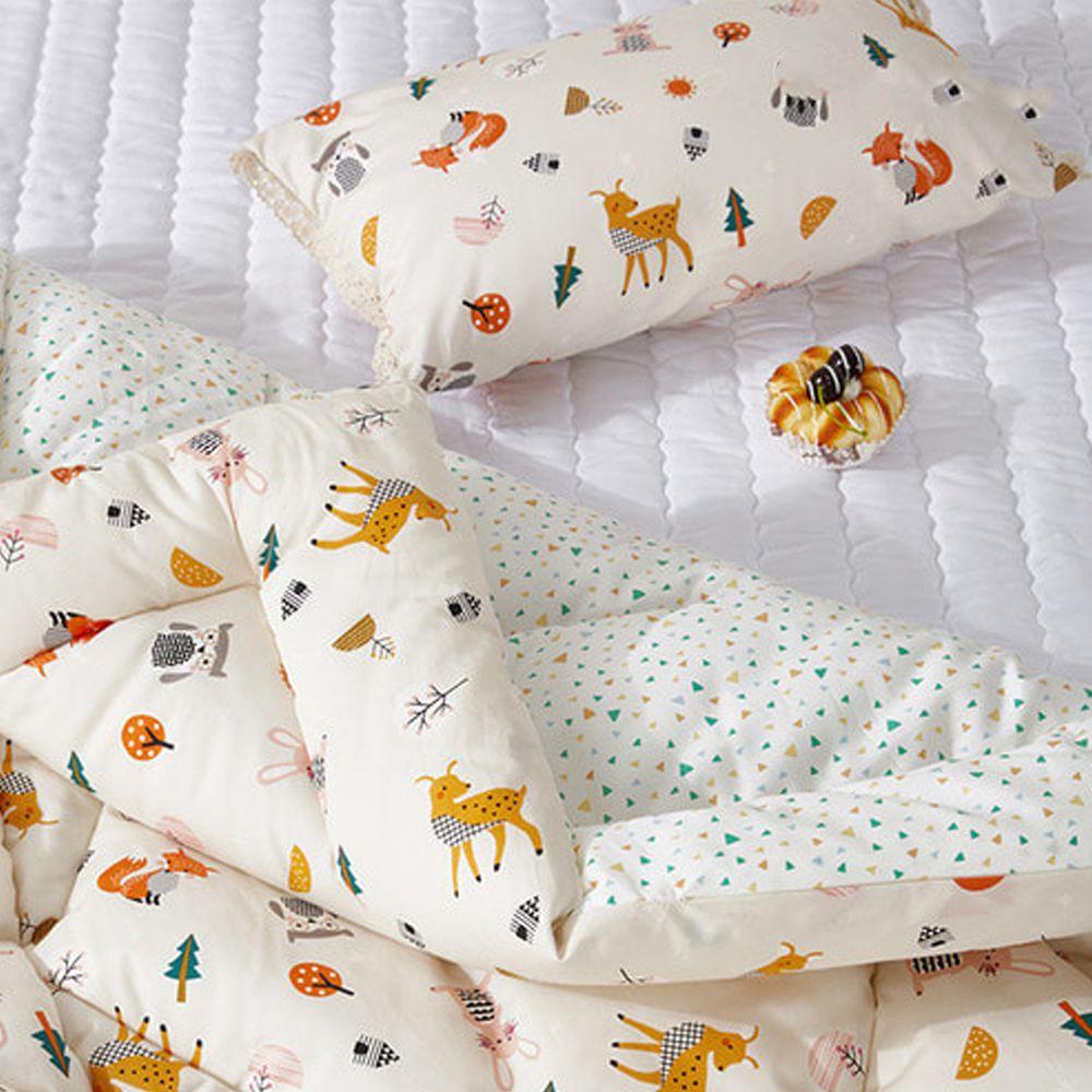 韓國 Formongde - 極輕純棉可機洗棉被-可愛小動物 (100X130cm)