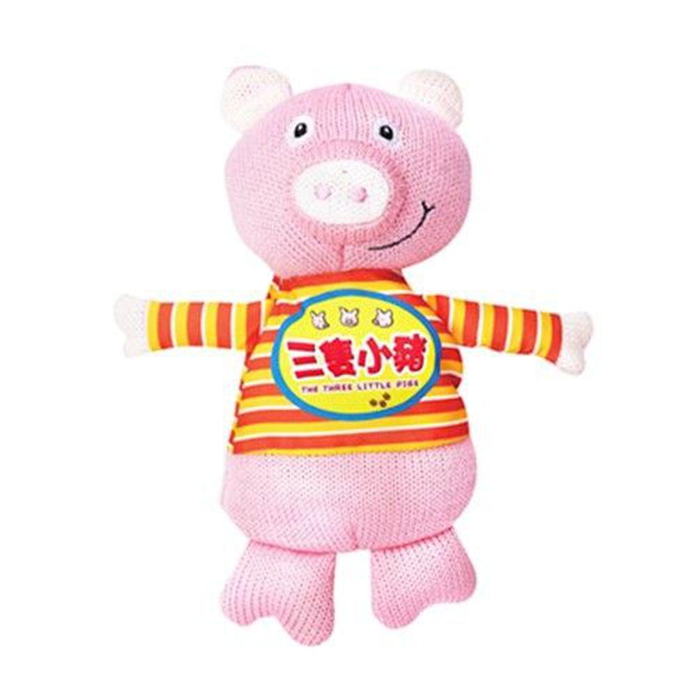 風車圖書 - 我的動物玩偶故事書-三隻小豬