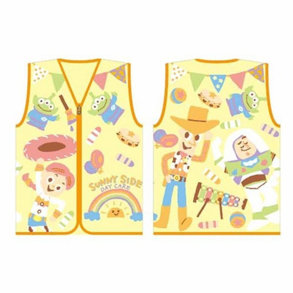 日本服飾代購 - 卡通厚刷毛保暖背心-玩具總動員