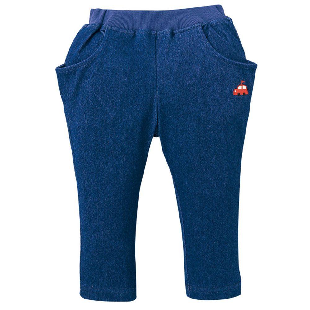 akachan honpo - 男10分馬褲-深藍色