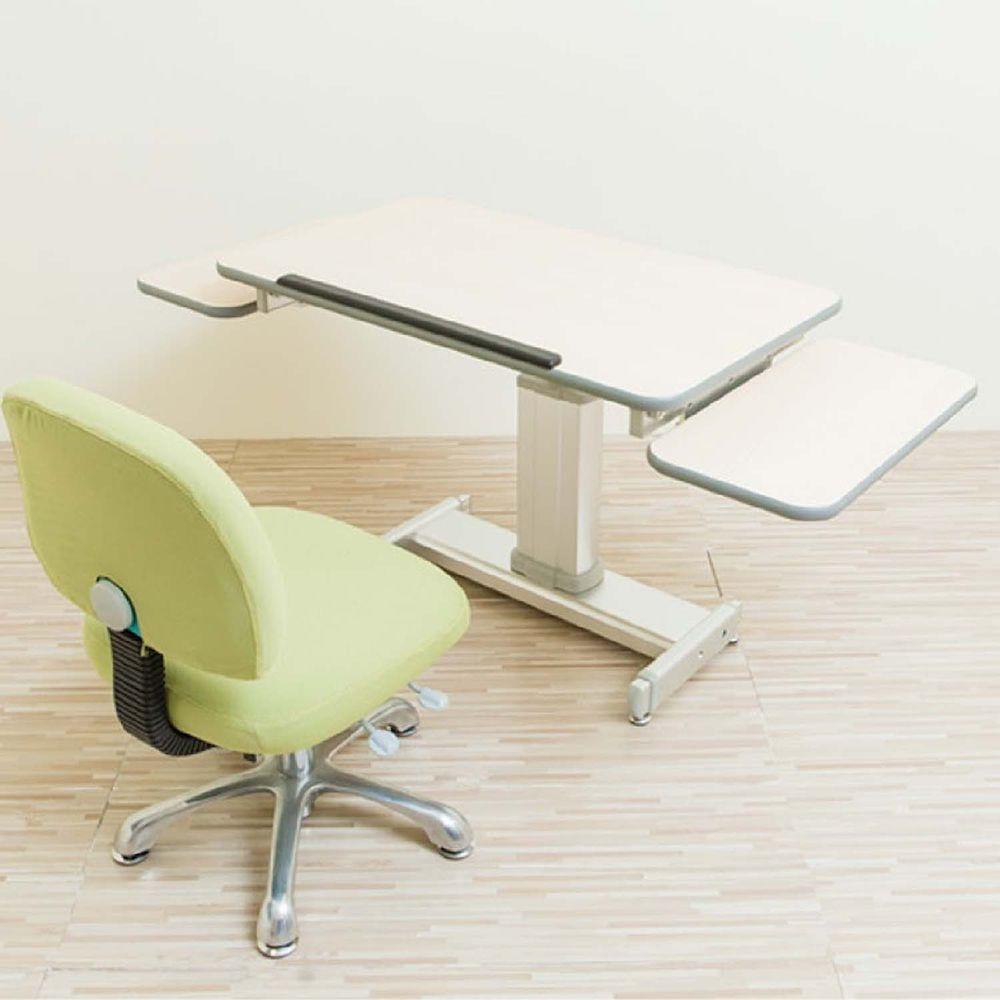 MyTolek 童樂可 - 80舒適版樂適桌+雙側板+挺立椅-皮諾丘木