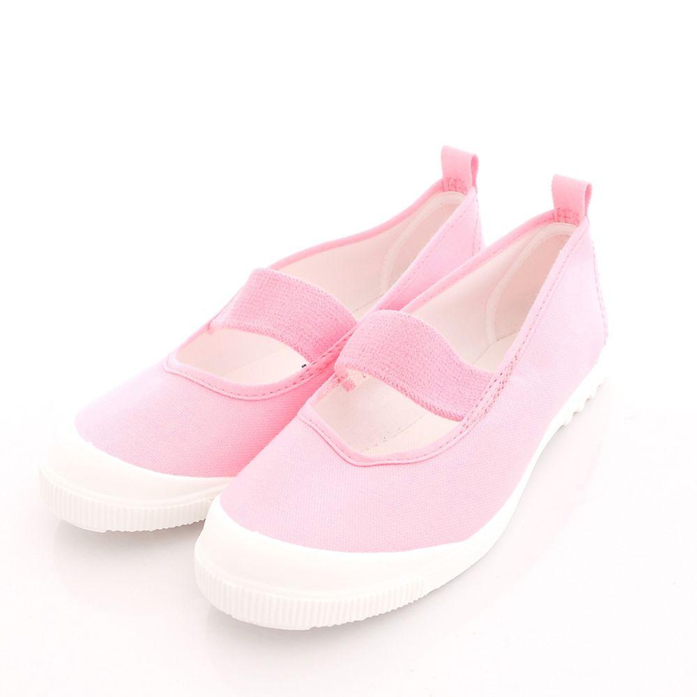 Moonstar日本月星 - 日本月星機能童鞋-日本製新改款室內鞋鐵氟龍防潑版(中小童段)-淺粉