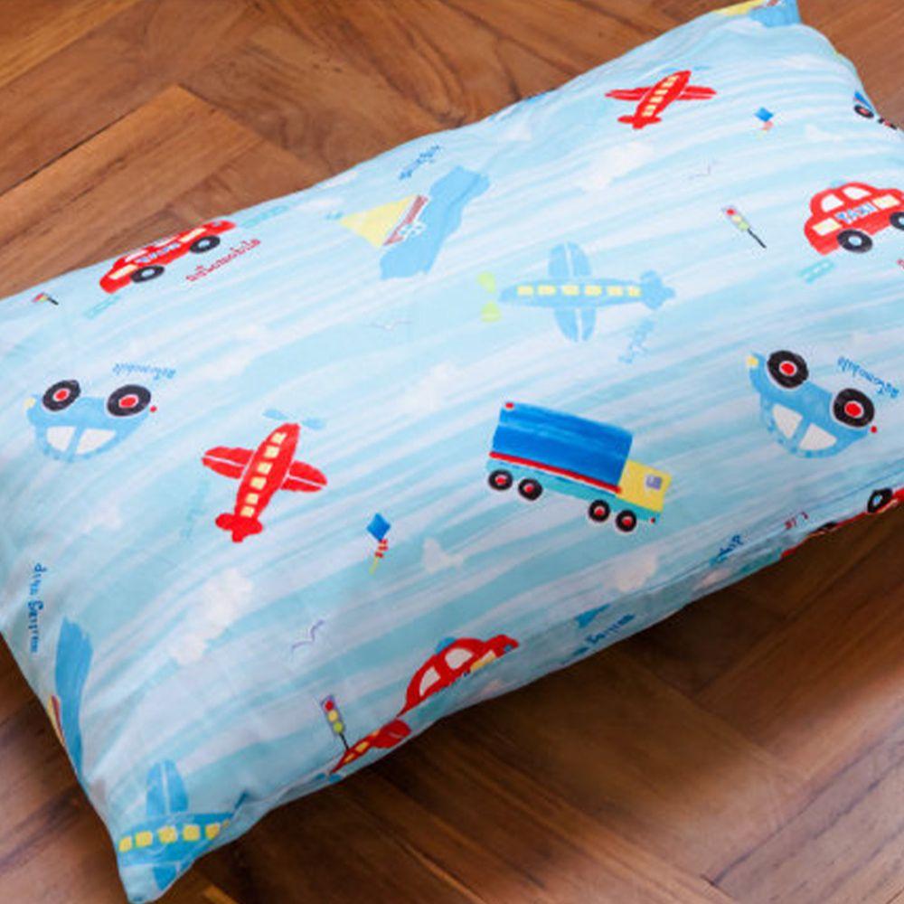 鴻宇 HONGYEW - 防螨抗菌100%美國棉兒童纖維枕-夢想號-1573