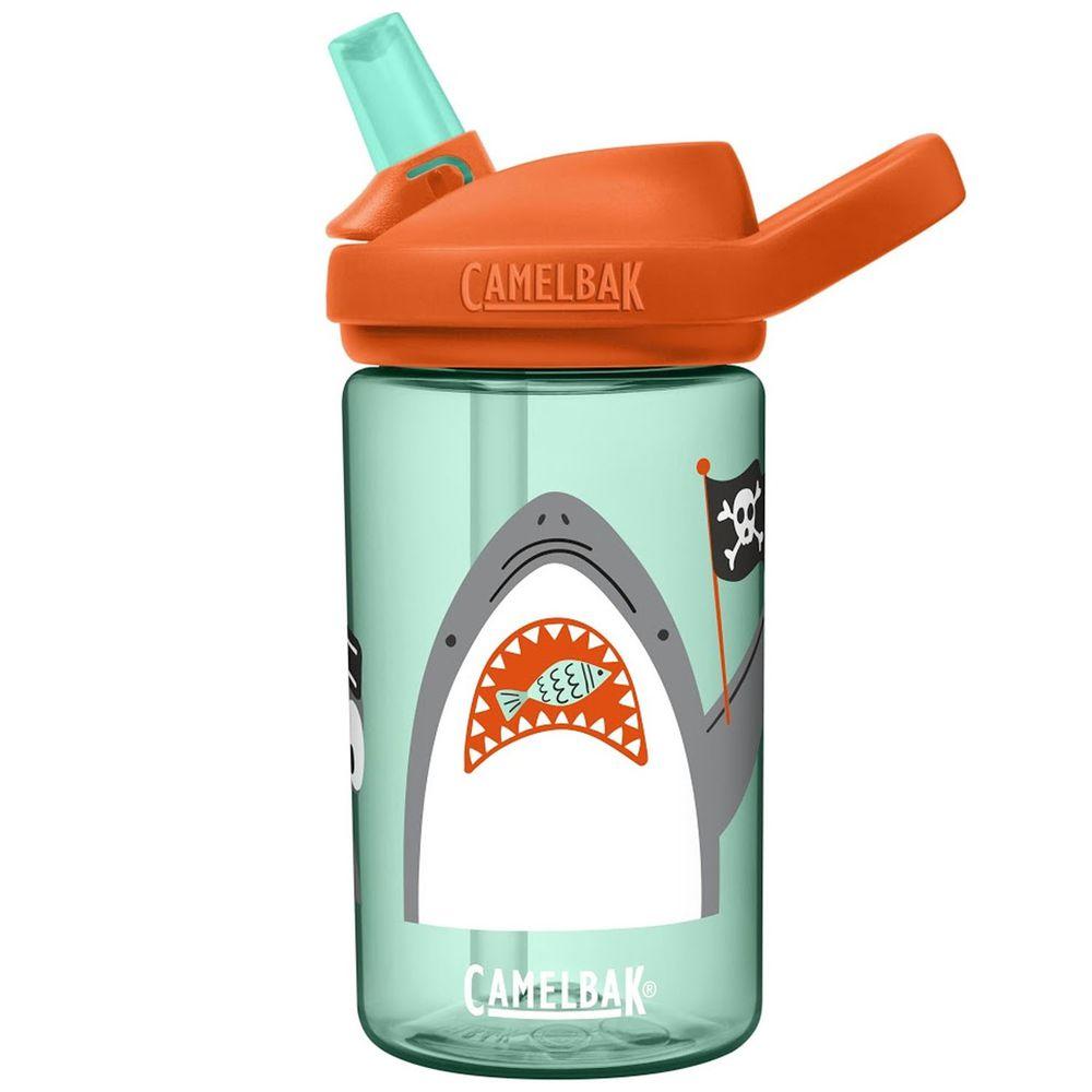 CamelBak - EDDY+ 兒童吸管運動水瓶-鯊魚海盜 (400ml)-專案