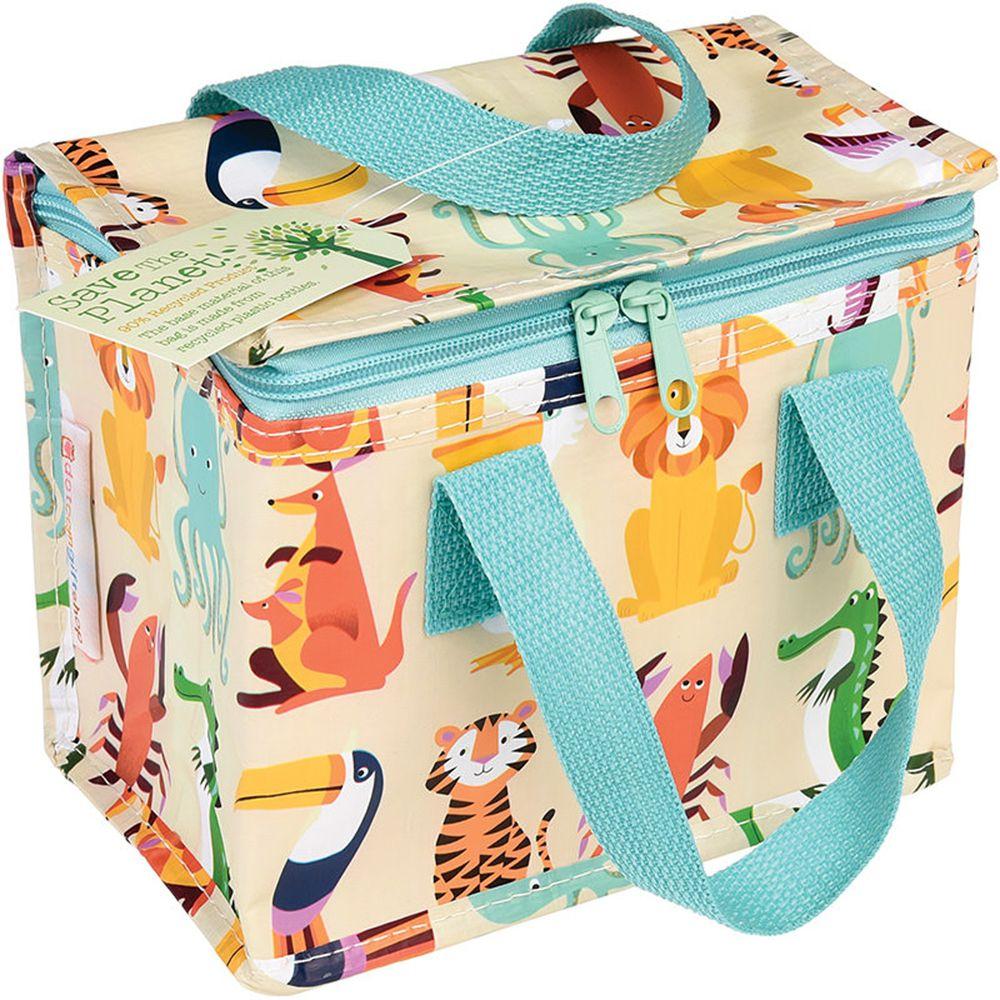 英國 Rex London - 環保保溫袋/保冷袋/便當袋/野餐袋-動物樂園